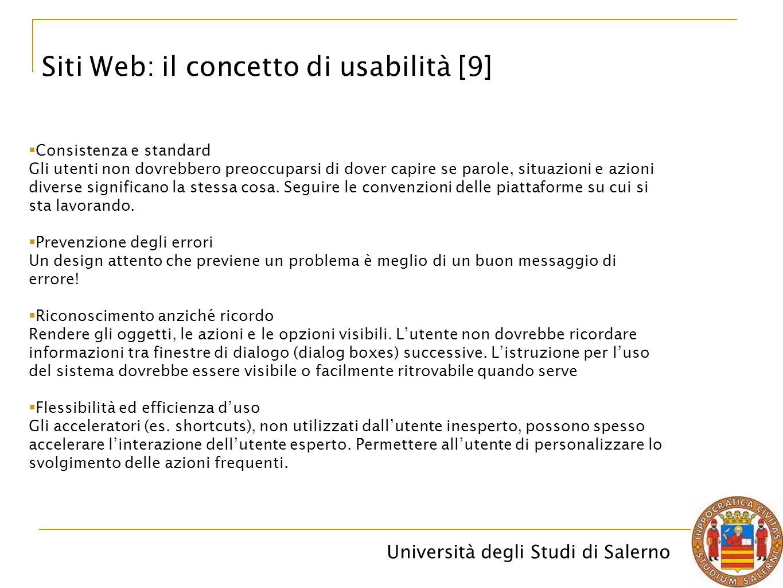 Siti Web: il concetto di usabilità [9]